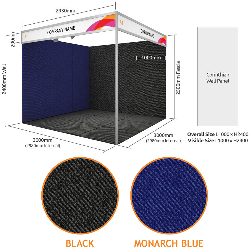 Exhibition Stand Wall Panels : Exhibitions and conferences plan your stand stand types