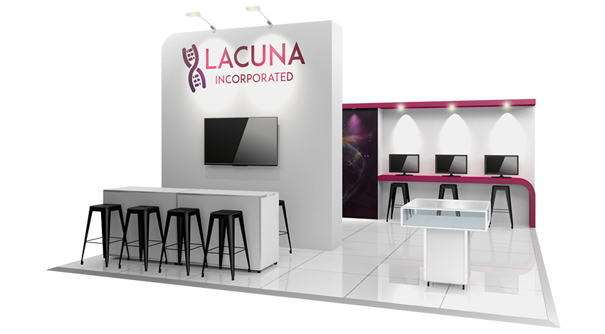 Exhibition Stand Packages : Exhibitors plan your stand stand packages