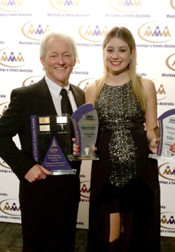 Stellar Results for Exponet at the Prestigious Mea Industry Awards - Jim Delahunty & Christine Kotsis